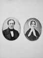I-6928.0.1 | Mr. and Mrs. Smith, copied 1863 | Photograph | Anonyme - Anonymous |  |