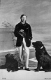 I-7038.1 | Capt Thomas and dogs, Montreal, QC, 1863 | Photograph | William Notman (1826-1891) |  |