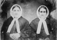 I-7090.0.1 | Mrs. Lines and Mrs. Biggar, copied 1863 | Photograph | Anonyme - Anonymous |  |