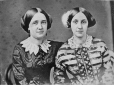 I-7510.0.1 | Pair of women, copied for Mrs. Sweeney, 1863 | Photograph | Anonyme - Anonymous |  |