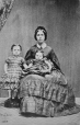 I-7629.0.1 | Mrs. Archibald(?) and two children, copied 1863 | Photograph | Anonyme - Anonymous |  |
