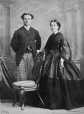 I-8344.1 | Mr. and Mrs. Whitehead, Montreal, QC, 1863 | Photograph | William Notman (1826-1891) |  |