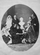 I-9016.0.1 | Queen Victoria and family, copied 1863 | Photograph | Anonyme - Anonymous |  |