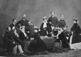 I-9058.0.1   Royal family group, copied 1863   Photograph   Anonyme - Anonymous     
