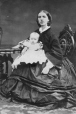I-977.1 | Mrs. Singleton and baby, Montreal, QC, 1861 | Photograph | William Notman (1826-1891) |  |