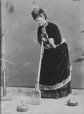 II-23555.1 | Miss V. Allan, posed for a curling composite, Montreal, QC, 1876 | Photograph | Notman & Sandham |  |