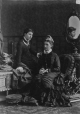 II-55891.1 | Mrs. Young and daughter, Annie Young, Notman staff, Montreal, QC, 1880 | Photograph | Notman & Sandham |  |