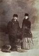 II-72261.1 | Mr. & Mrs. Charles Fleetford Sise and their dog, Montreal, QC, 1884 | Photograph | William Notman & Son |  |