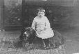 II-81757.1 | Mr. Adam's child and dog, Montreal, QC, 1886 | Photograph | Wm. Notman & Son |  |