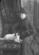 II-82934 | Miss Notman and dog, Montreal, QC, 1887 | Photograph | Wm. Notman & Son |  |