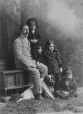 II-95186.1 | Mr. Dillon, his children and dog, Montreal, QC, 1891 | Photograph | Wm. Notman & Son |  |