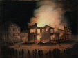 M11588 | The Burning of the Parliament Building in Montreal | Painting |  |  |