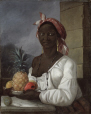 M12067 | Portrait of a Haitian woman | Painting | François Malépart de Beaucourt |  |