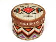 M14099 |  | Container with lid | Anonyme - Anonymous | Aboriginal: Mi'kmaq | Eastern Woodlands