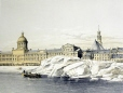 M15934.18 | Shoving of ice upon wharves in front of Montreal | Print | Anonyme - Anonymous |  |