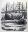 M15934.21 | The Removal of a Large Boulder during the Construction of the Victoria Bridge | Print |  |  |