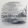 M15934.23 | The Construction of the Pier No. 16 of the Victoria Bridge | Print |  |  |