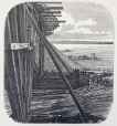 M15934.39   The Removal of a Dam Used for the Construction of Victoria Bridge   Print        