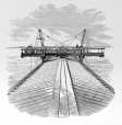 M15934.42   Footway Used for the Construction of Victoria Bridge Roofing   Print        