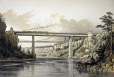 M15934.53 | Proposed tubular bridge for crossing the Niagara Gorge | Print | S. Russel |  |