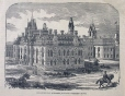 M17223 | Departmental buildings, Ottawa - Western Block | Print | John Henry Walker (1831-1899) |  |