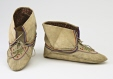 M18503.1-2 |  | Moccasins | Anonyme - Anonymous | Aboriginal: Innu? | Eastern Subartic