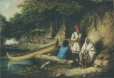 M19893 | Aboriginal Camp in Lower Canada | Painting | Cornelius Krieghoff (1815-1872) |  |