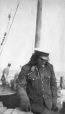 "M2000.113.6.129 | Inuit man aboard the schooner ""Paradox"", Fort Churchill, MB, 1909 