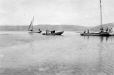 M2000.113.6.212 | Revillon Freres fleet at Wakeham Bay (Kangiqsujuaq), Hudson Strait, 1909 | Photograph | Hugh A. Peck |  |