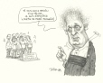 M2000.93.143 | 1998 Election: Jean Charest's Liberals Defeated | Drawing | Serge Chapleau |  |