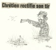 M2000.93.162 | Chrétien Corrects His Aim | Drawing | Serge Chapleau |  |