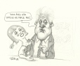 M2000.93.164 | Bill Clinton: Are you sure she doesn't talk? | Drawing | Serge Chapleau |  |