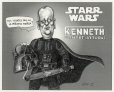 M2000.93.18.1-2 | Starr Wars: Kenneth Counterattacks | Montage (computer drawing) | Serge Chapleau |  |