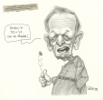 M2000.93.209 | Canadian Dollar in Freefall | Drawing | Serge Chapleau |  |