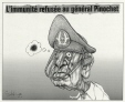 M2000.93.28.1-2   No Immunity for General Pinochet   Montage (computer drawing)   Serge Chapleau     