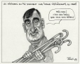 M2000.93.30.1-2   Ministerial Appointments and the Greying of the PQ   Montage (computer drawing)   Serge Chapleau     