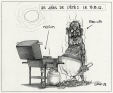 M2000.93.44.1-2   The Joys of Summer: BBQ   Montage (computer drawing)   Serge Chapleau     