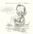 M2000.93.77 | Debate But No Vote on Kosovo in Parliament | Drawing | Serge Chapleau |  |