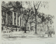 M2001.73.2 | Old courthouse, Montreal | Print | Ernst Neumann, 1907-1956 |  |