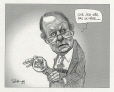 M2001.99.6.1-2 | Bernard Landry and the Montreal Stock Exchange | Montage (computer drawing) | Serge Chapleau |  |