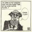 M2002.119.48 | Jean Charest and the Quebec Election | Drawing | Aislin (alias Terry Mosher) |  |