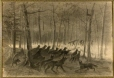 M2002.128.32 | Pack of Wolves | Drawing | William Raphael |  |