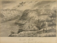 M2002.128.37 | Queenston Heights with General Brocks Monument | Drawing | Frederick Holloway, active 1840-1853 |  |