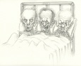 M2002.131.109 | Repatriation of the Constitution: Trudeau, Chrétien and Levesque in Bed | Drawing | Serge Chapleau |  |
