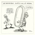 M2002.131.144.1-2 | Special Law for Pharmacists | Montage (computer drawing) | Serge Chapleau |  |