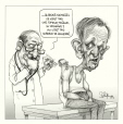 M2002.131.145.1-2 | Jean Chrétien Gets the Bad News | Montage (computer drawing) | Serge Chapleau |  |