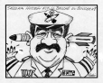 M2002.132.21 | Saddam Hussein, stupid or stuffed? | Drawing | Éric Godin |  |