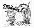 M2002.133.58 | Speak White | Dessin | Éric Godin |  |