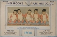 M2002.70.D04_132-05 | Compliments of Sherbrooke Pure Milk Co. Ltd. - The Dionne Quintuplets | Calendar |  |  |