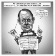 M2003.143.10.1 | Morning after the by-elections: A new career for Bernard Landry? | Montage (computer drawing) | Serge Chapleau |  |